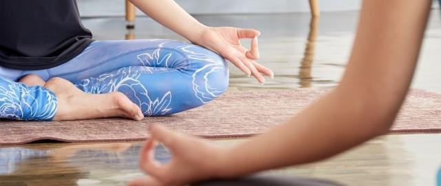 ヨガの瞑想イメージ